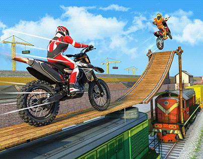 Trial Extreme Motocross Dirt Bike Racing