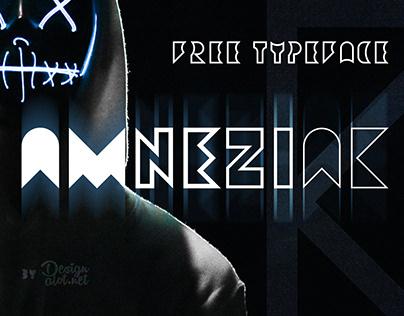 Amneziak Free Typeface