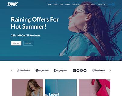 Astra ecommerce wwordpress website