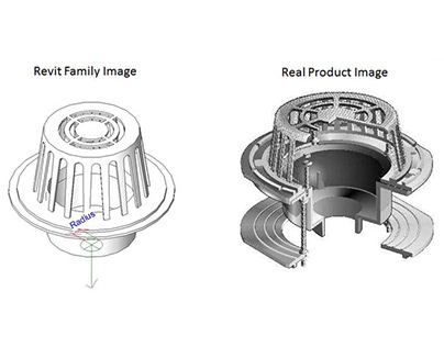 Created Revit Families for Plumbing Products