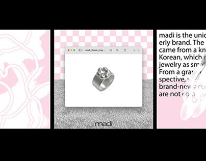 Package Design for Madi's Flower Ring