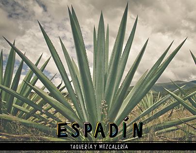 Espadín Branding and Menu