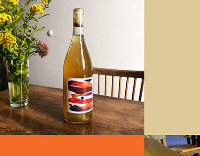 Label Design for Co-Op's Orange Wine
