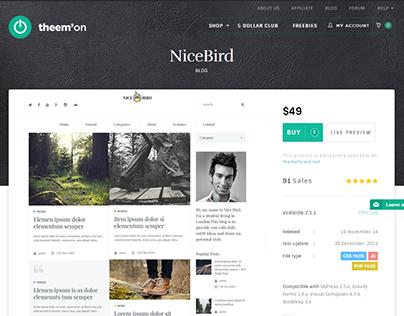 NiceBird Magazine WordPress Theme
