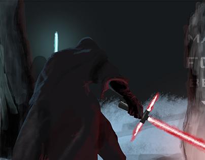 Force Awakens Digital Painting