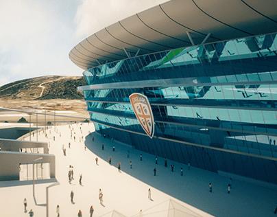 Cagliari Stadium Presentation