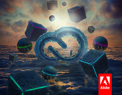 New Horizon - Adobe Creative Cloud Artwork