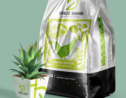 Sabze Bahar Fertilizer Packaging Design
