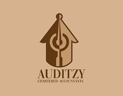 Auditzy - Professional Services Logo Design