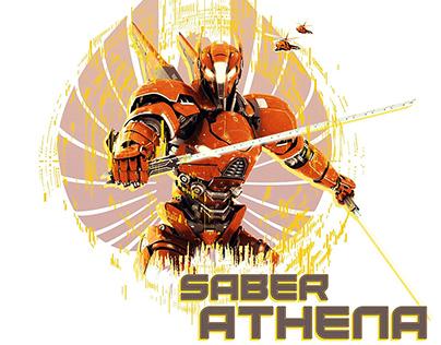 Saber Athena - Posable Action Figure