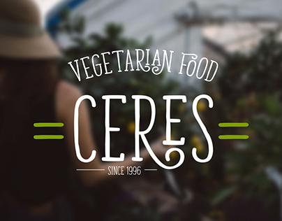 CERES - VEGETARIAN FOOD IDENTITY