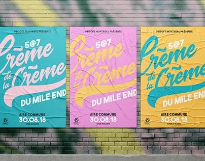 Crème de la Crème du Mile End 2018