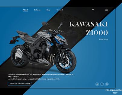 Concept Moto Design for Kawasaki