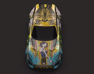 XTAON Art Car Challenge Submission