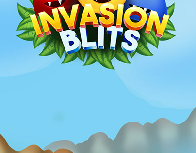 Invasion blits match 3