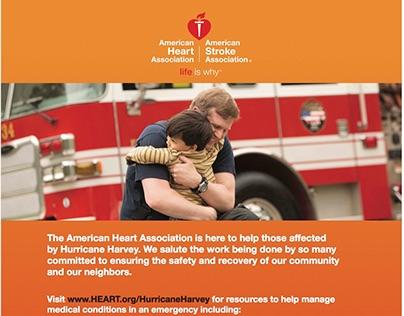 Hurricane Harvey Relief Ads