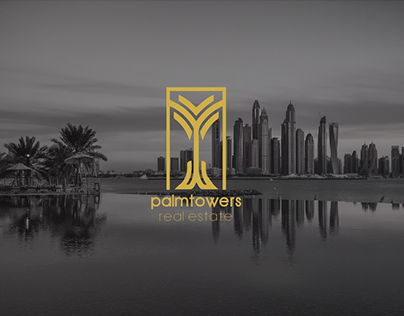 Palm Towers brand design