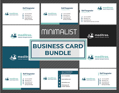 Minimalist Business Card BUNDLE
