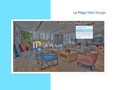 La Playa Web Design