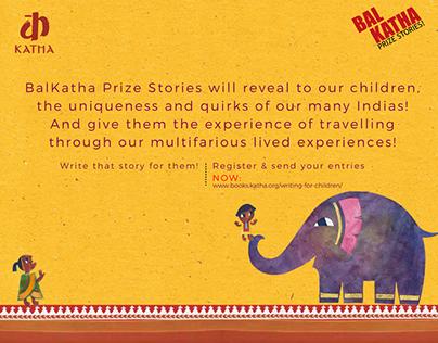 BalKatha Prize Stories Campaign!