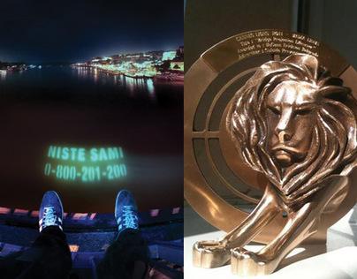/// Bridge Projecton Lifesaver /// CASE - Cannes Lion