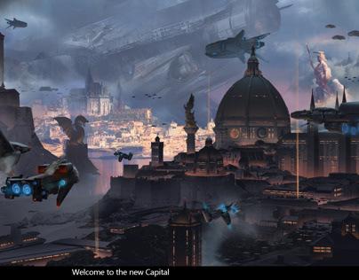 新帝国首都