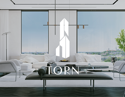 Torn Penthouse - Real estate branding and website