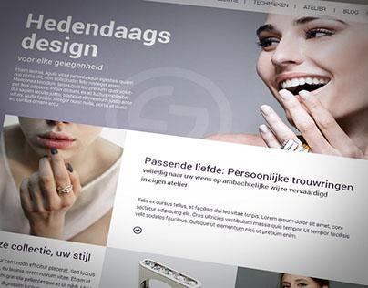 Website Jochen Thiele | Goudsmid