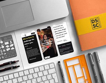 DSSC Ideas Lab - Website Design