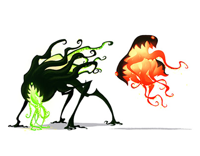 LOVECRAFT CREATURES SKETCHES