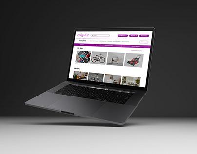 Craigslist Homepage Redesign   Concept