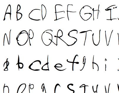 Tristanica Custom Font