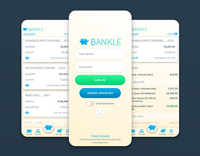 Bankle App Product Design