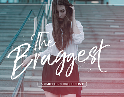 The Braggest (Free Font)
