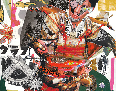 monthly collage work : january 2020