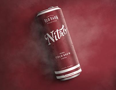 Red Barn Coffee Roasters Nitro Can