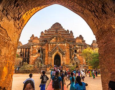 Dhammayangyi Temple , Bagan , Myanmar