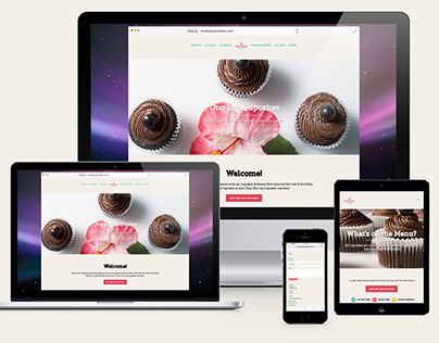 'Ono Loa Cupcakes: Senior Thesis Responsive Website