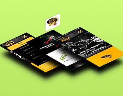 Adaptación sitio web - SUPERKOTE 2000 Móviles