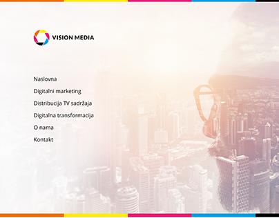 Visionmedia web