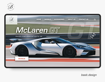 Sports Car Website