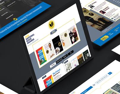 National Book Award - Website Design