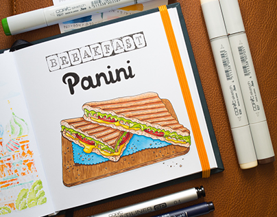 Food Illustrations #2 / Copic Markers