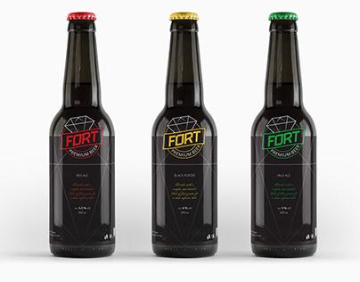 Premium Beer Packaging Design