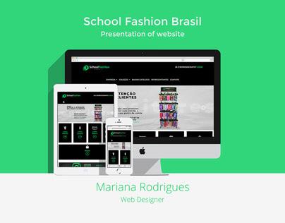 School Fashion Brasil Website