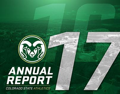 Colorado State Athletics 2016-17 Annual Report