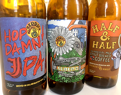 More Barrier Brewing Co. Labels
