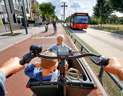 Fotografie voor Campagne Enschede Fietsstad