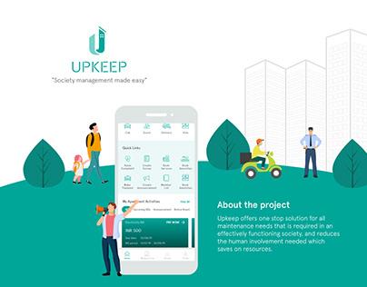 Upkeep - Society management made easy!