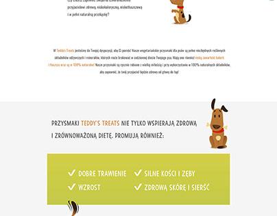 Teddy`s Treats - strona www - home